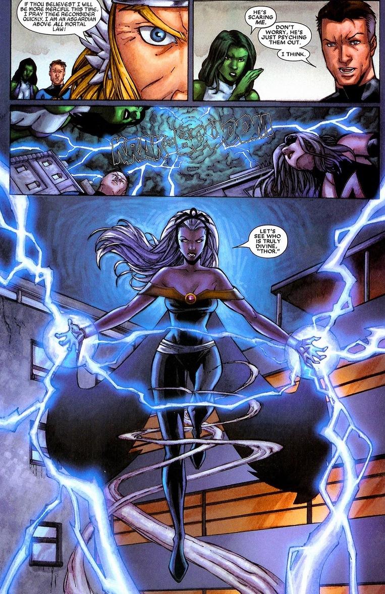 Thor vs. Storm | Arousing Grammar