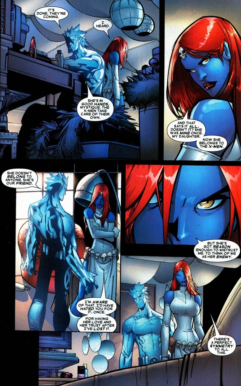 The love story of Iceman & Mystique, Pt. 1   Arousing Grammar