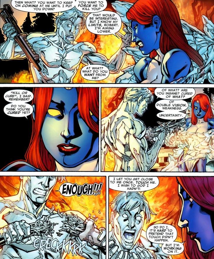 The love story of Iceman & Mystique, Pt. 2   Arousing Grammar