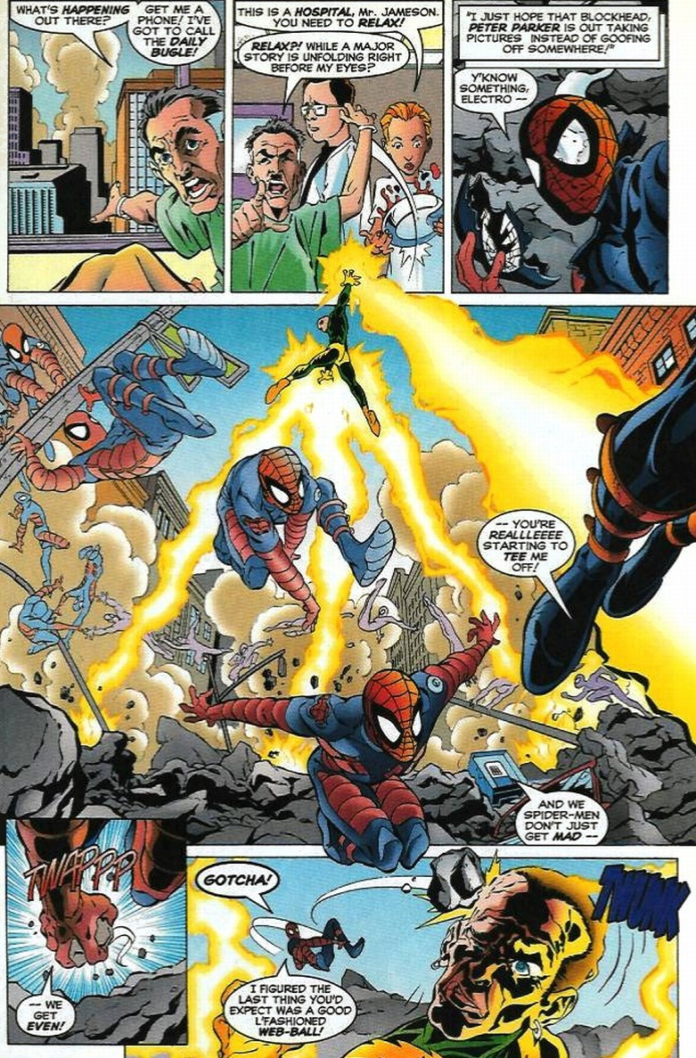 electro vs spiderman pt 2 arousing grammar