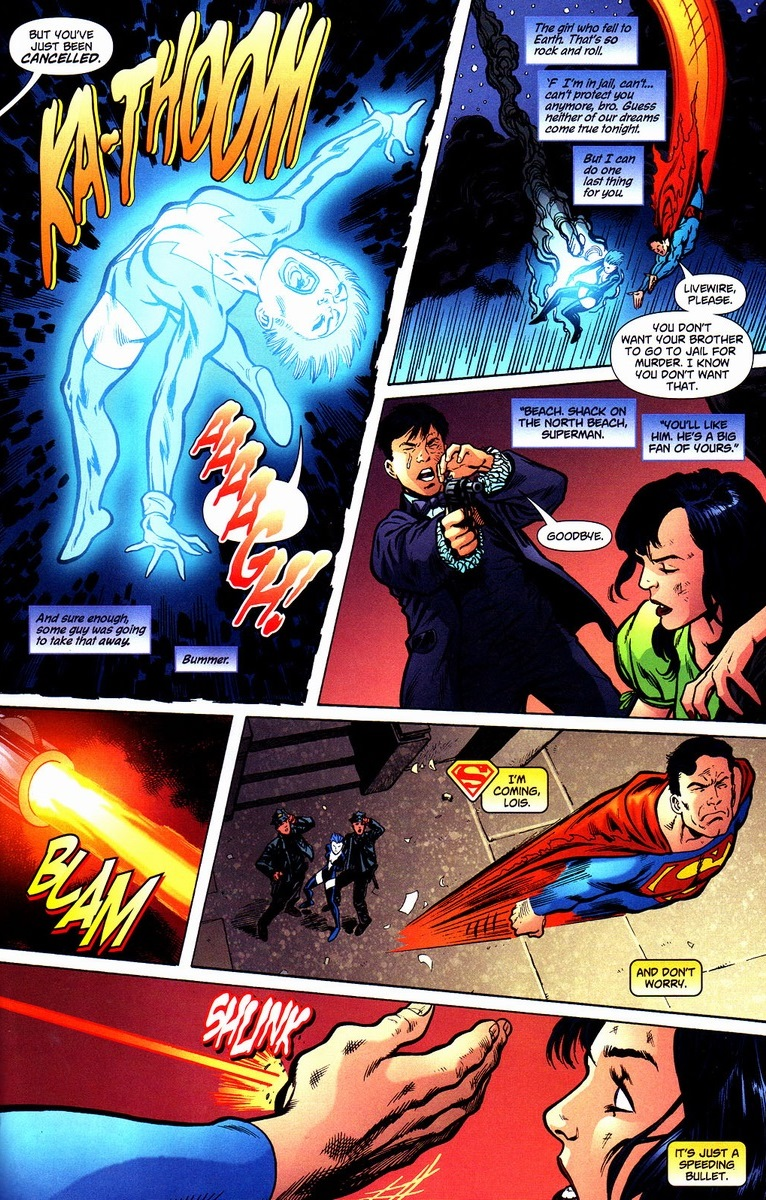 an analysis of the topic of the clark kent character from the comic book superman Because the film still hits on the same themes death of superman comic book storyline  it showcases the importance of clark kent  the character designs .