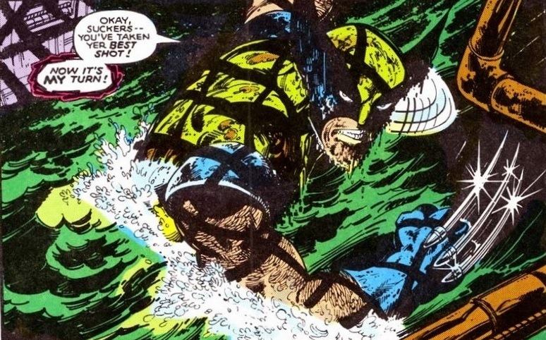Image result for scary wolverine sewer