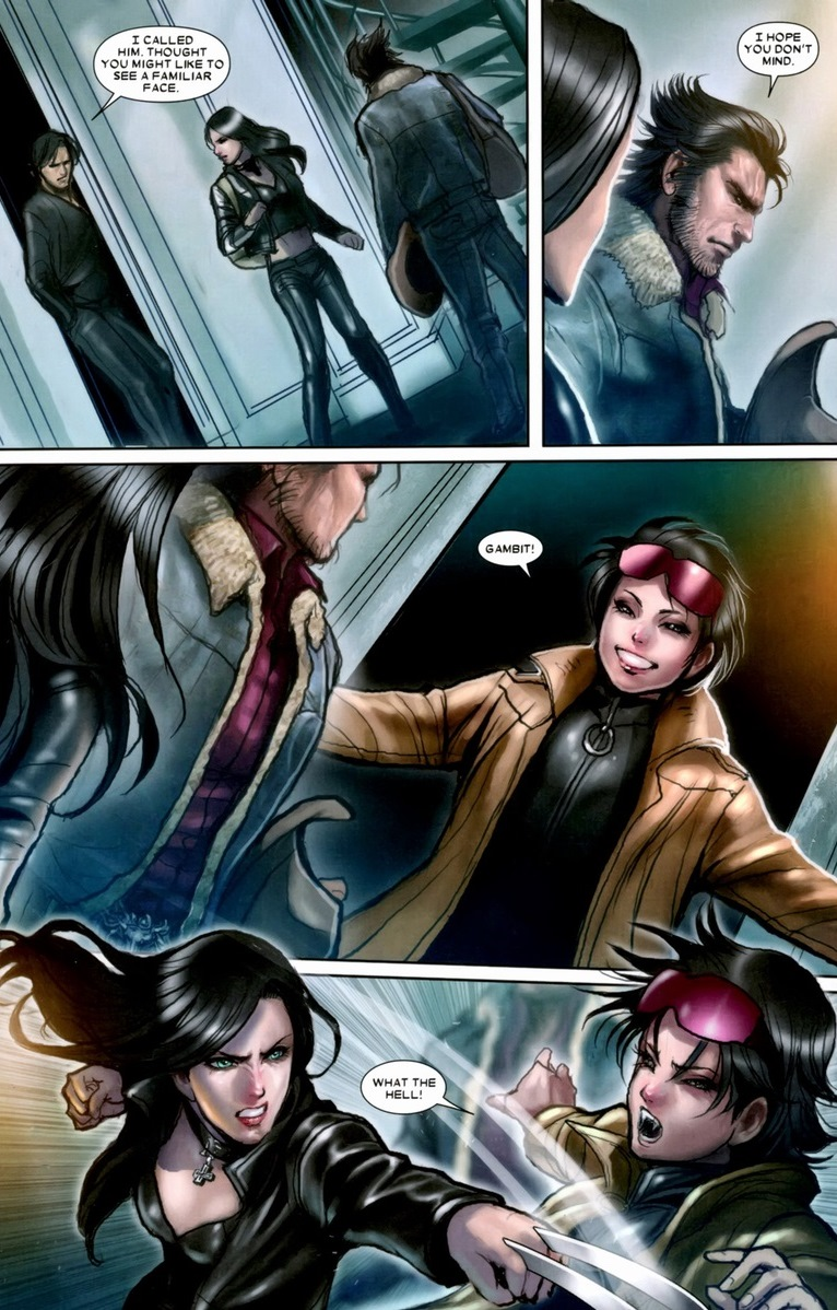 The friendship o...X 23 Gambit
