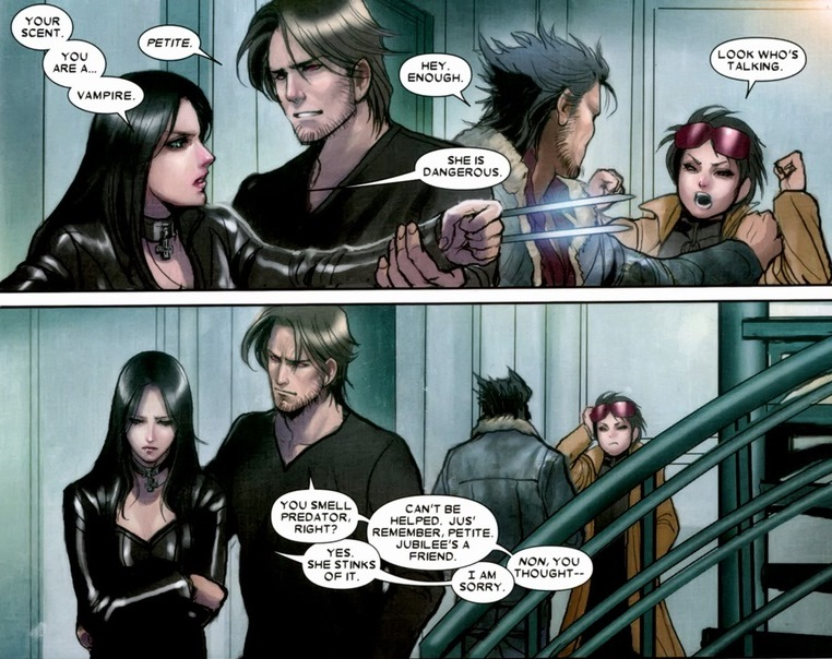 x 23 And Gambit The Friendship of x 23