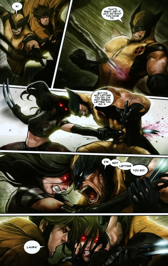 The friendship of X-23 & Jubilee | Arousing Grammar X 23 Gambit