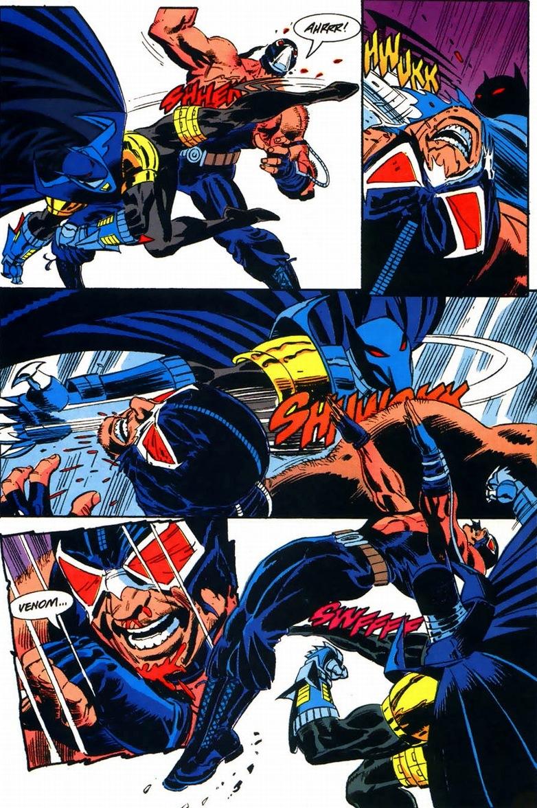 Bane & Batman: Knightfall | Arousing Grammar
