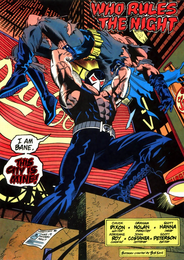 would you finish off Batman in Knightfall as Bane? - Gen ...