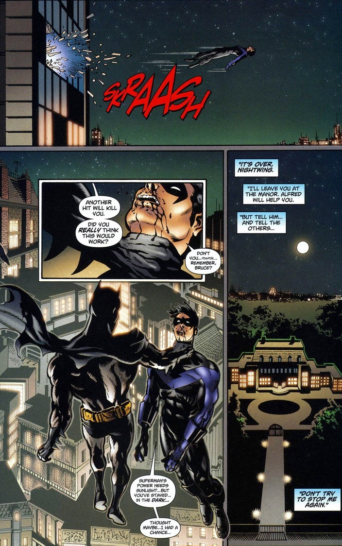 Batman and Superman switch powers, Pt. 2 | Arousing Grammar