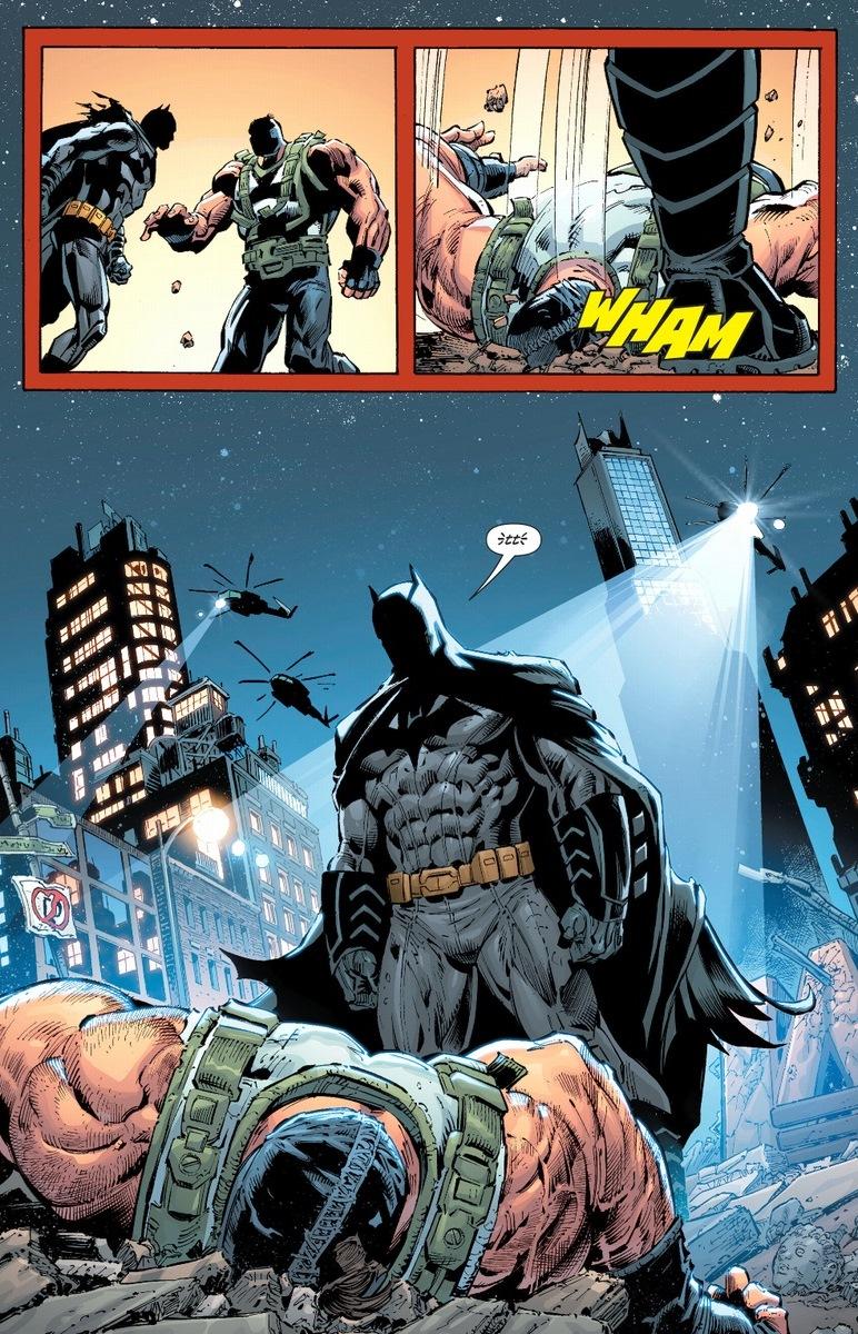 Image result for batman vs bane