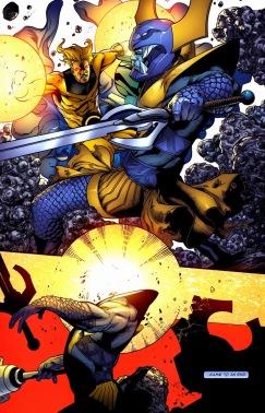 Znalezione obrazy dla zapytania attuma marvel comics modern comics