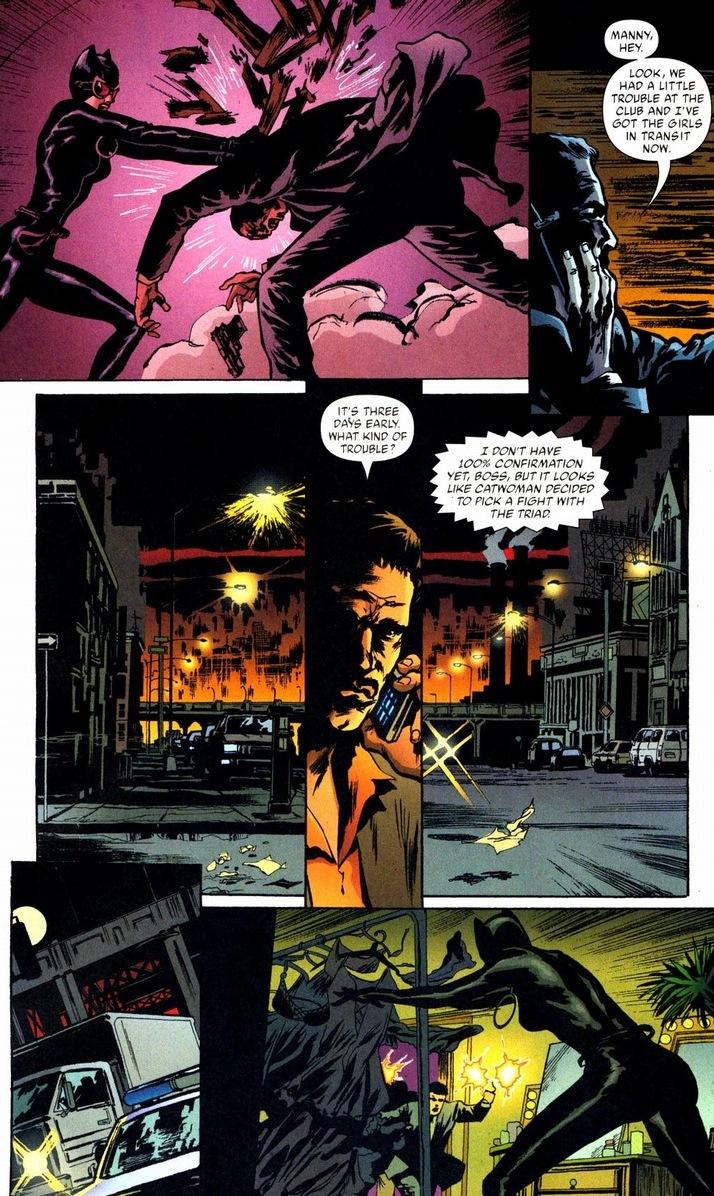 catwoman fights batman