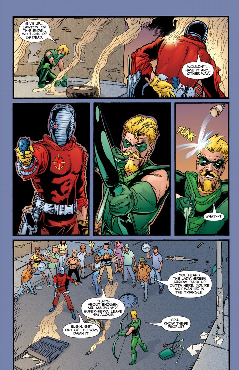 Deadshot Vs Green Arrow Arousing Grammar