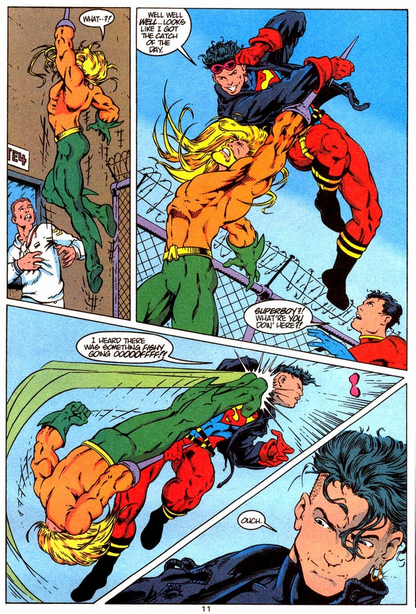 Aquaman vs. Superboy | Arousing Grammar