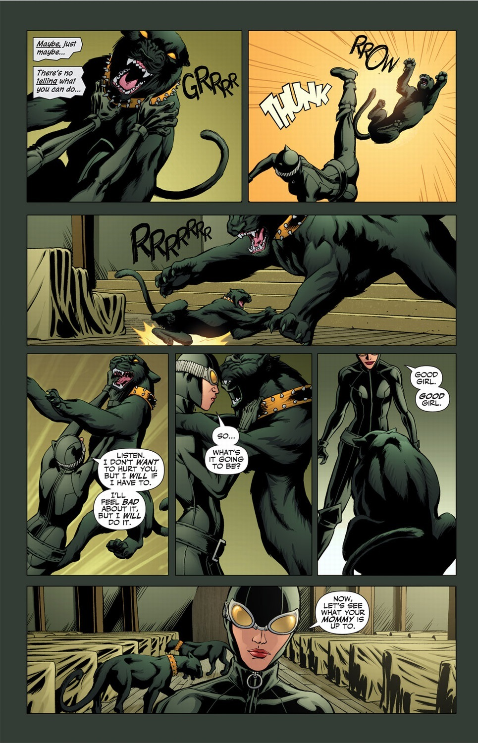 Catwomanu0027s sister Maggie becomes a nun and eventually a crazy vengeful nun because of that Black Mask incident. The poor girl didnu0027t stand a chance when she ... & Catwoman with superpowers Pt. 1 | Arousing Grammar