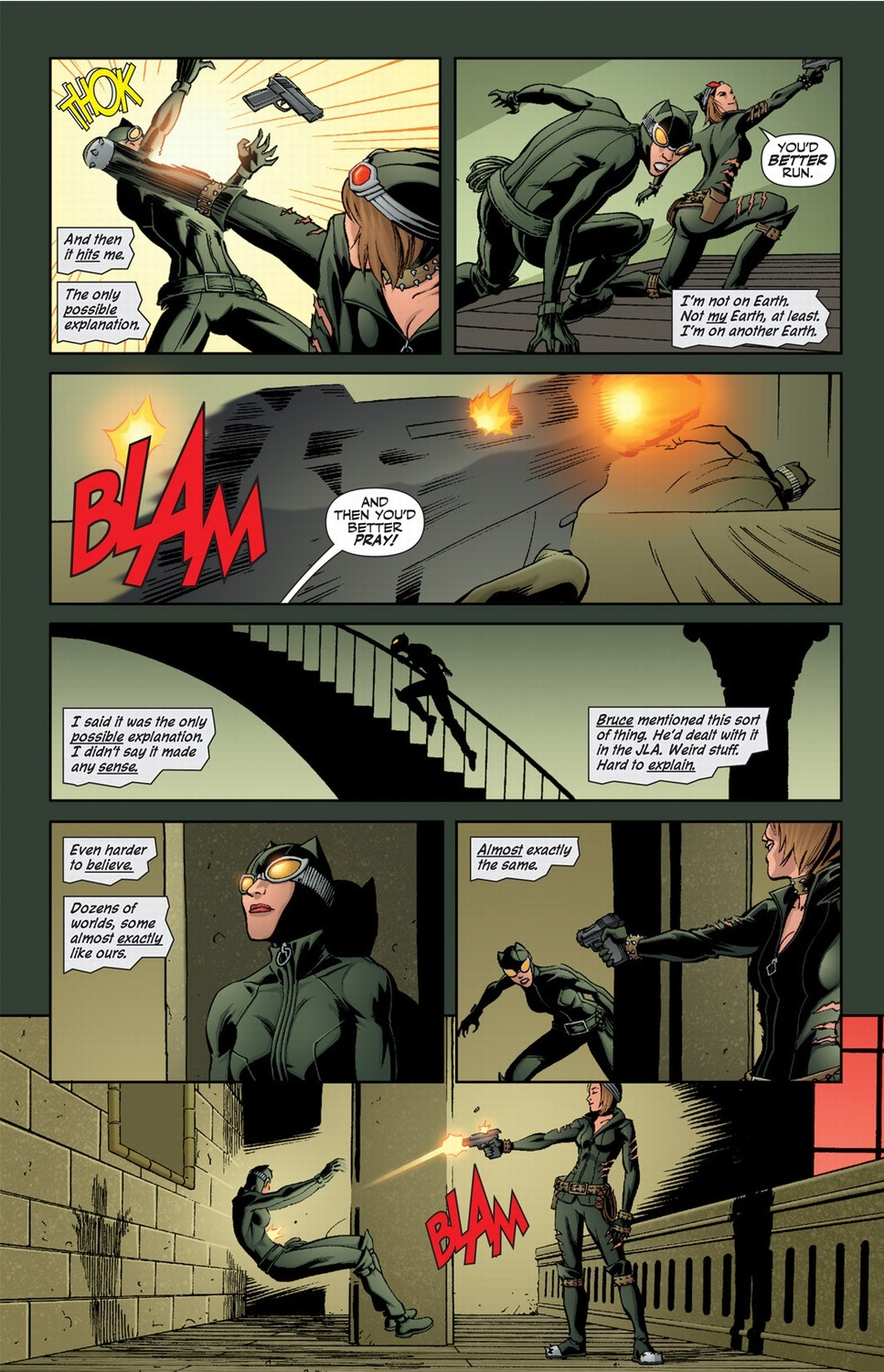 Catwoman with superpowers, Pt  1 | Arousing Grammar