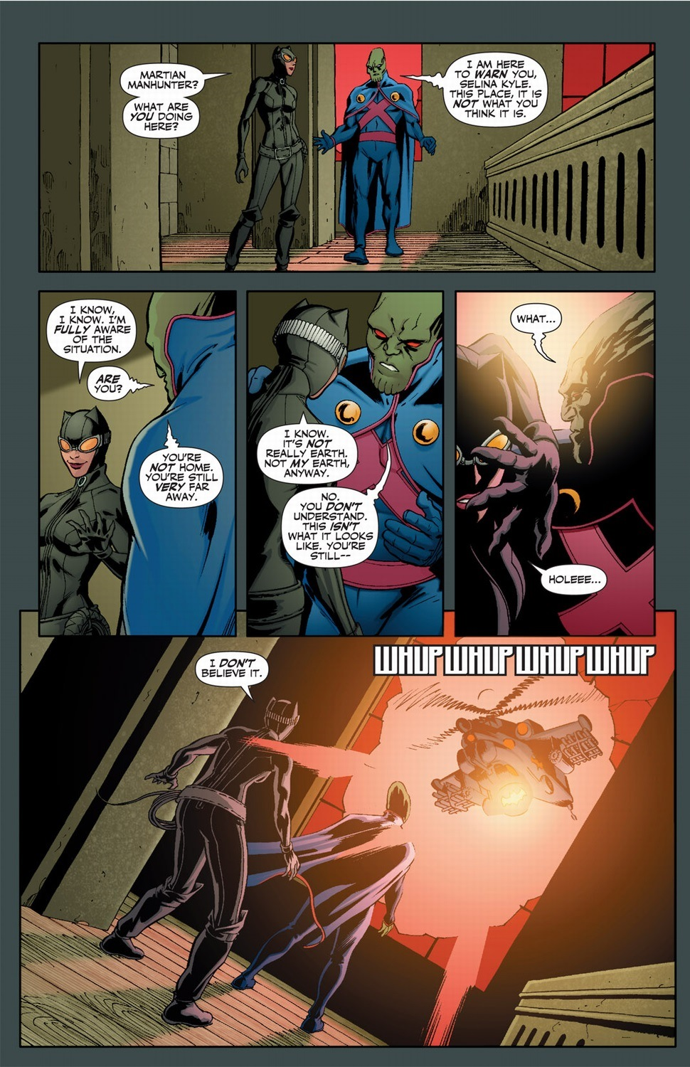 Catwoman with superpowers, Pt  2 | Arousing Grammar